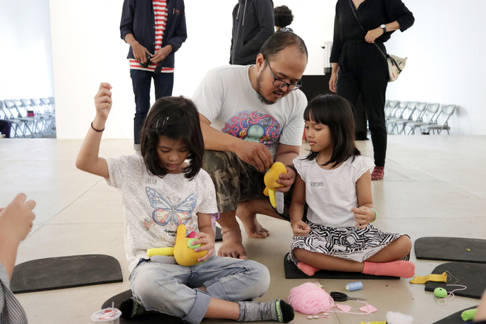 "DIY Plush Doll Workshop ""Monster Day"", © 2018, Selasar Sunaryo Art Space"