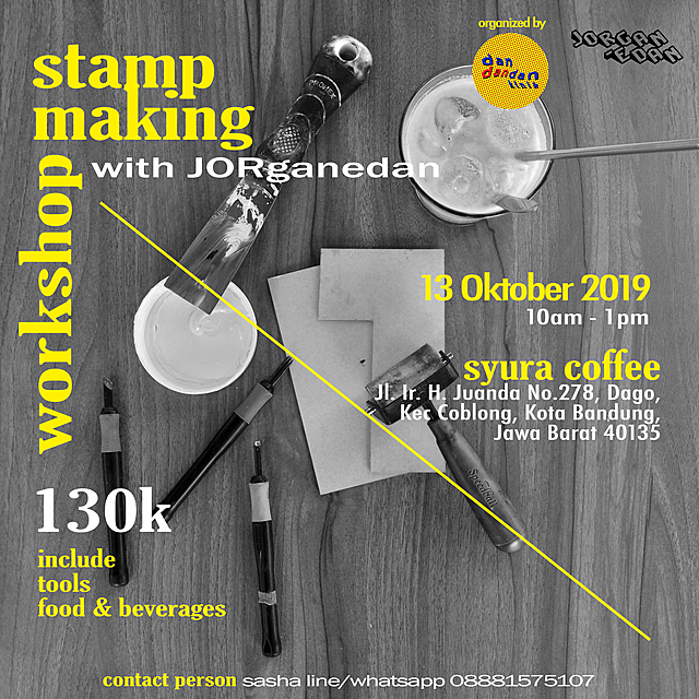 Stamp Making Workshop by JORGANEDAN