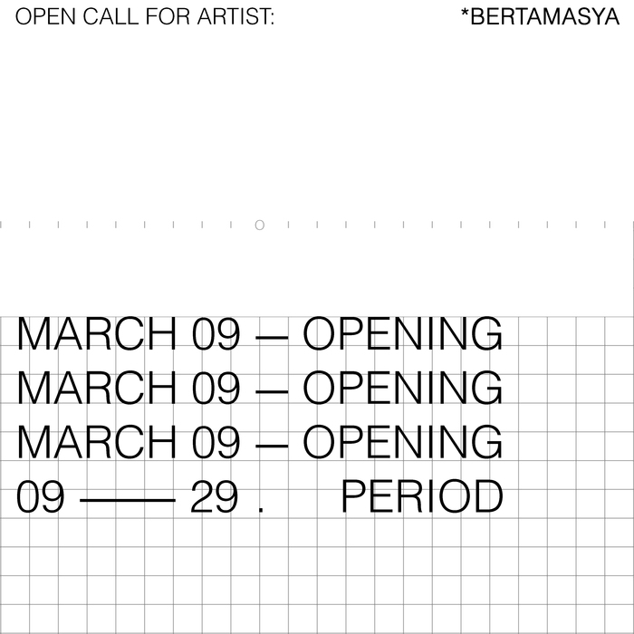 OPEN CALL FOR ARTISTS: Bertamasya, © KLUB REMAJA