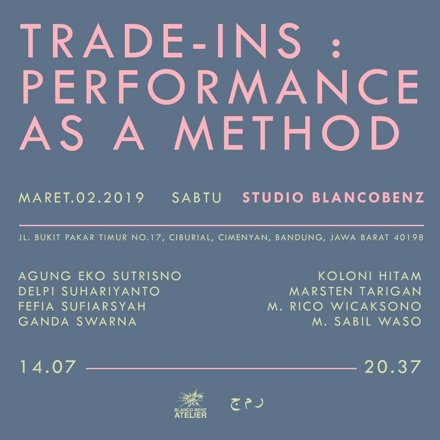 Trade-ins: Performance Art As A Method, © KLUB REMAJA